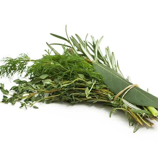 Herbes: Thym Laurier Botte
