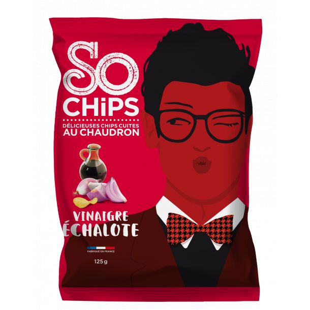 Chips Vinaigre échalote - So Chips